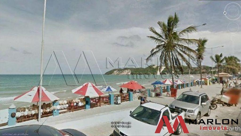 vt00949 terreno beira-mar da praia de ponta negra