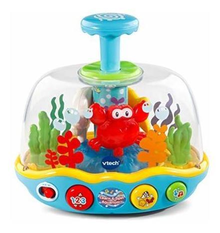 vtech aprender y girar acuario multicolor