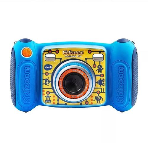 vtech kidizoom camara fotografica pix, infantil. azul