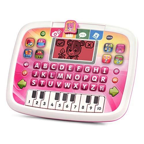 vtech little apps tablet, rosa