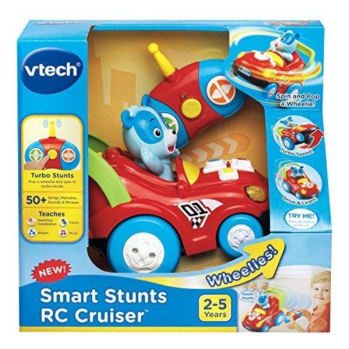 vtech smart stunts rc race carro
