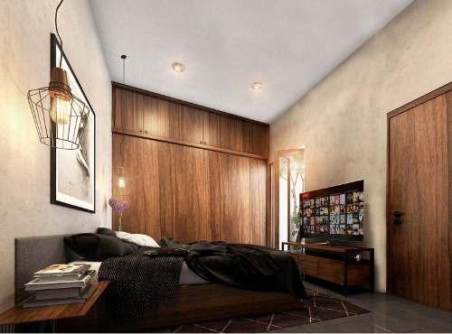 vth-17007 villa en preventa en privada rue de 1 planta en santa rita cholul