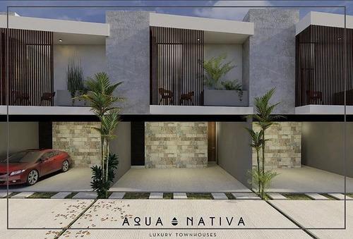 vth-17014 magníficos y funcionales townhouses en venta en aqua nativa