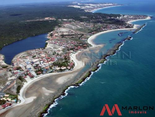 vtp00848 terreno na praia de tabatinga a beira mar