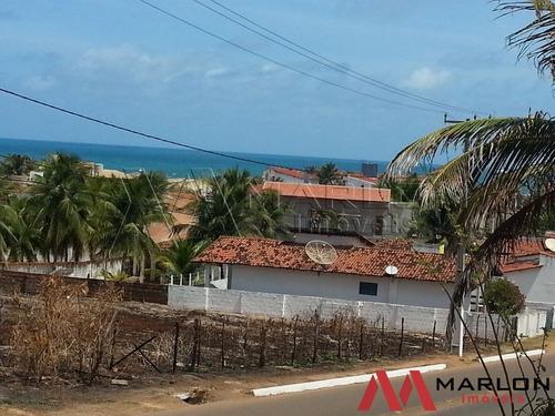 vtp01029 terreno na praia de tabatinga com vista para o mar