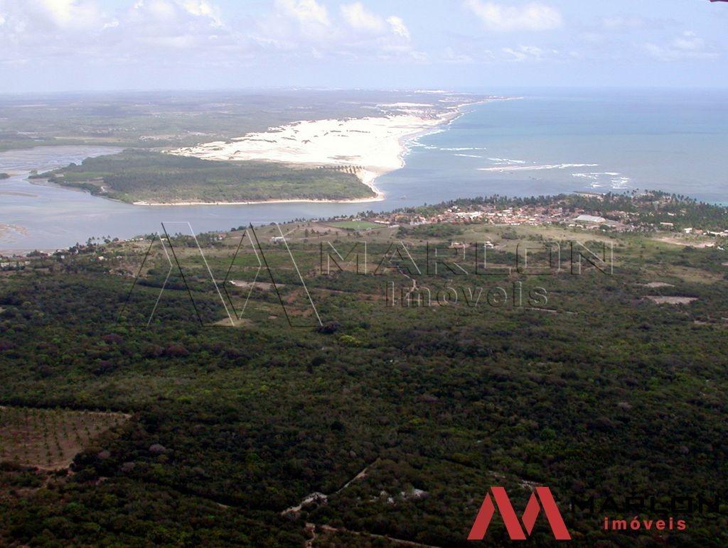 vtp01115 terreno na praia de tibau, 10m da praia de pipa