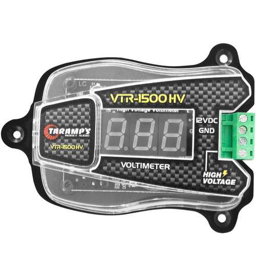 vtr1500  voltimetro taramp's alta voltagem
