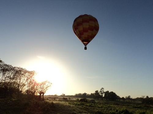 vuelo en globo - paseo en globo aerostático