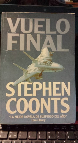 vuelo final stephen coonts, usado, original