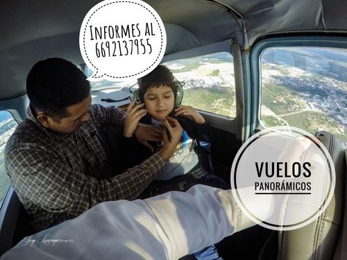 vuelos panorámicos en mazatlán.