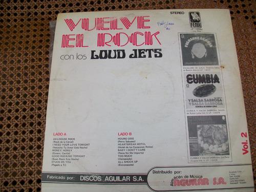 vuelve el rock, musica coleccionable, acetato en buen estado