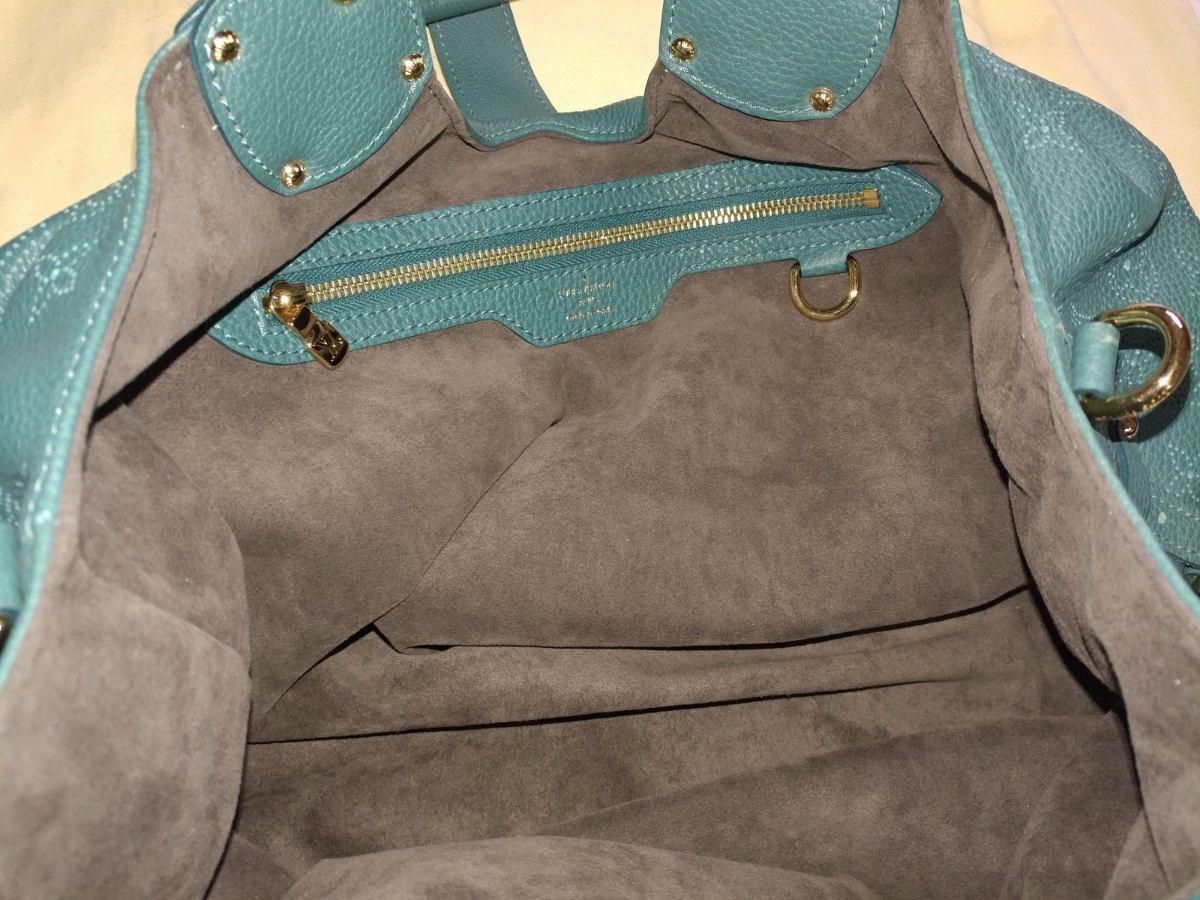 562c7b718 Carregando zoom... bolsa louis vuitton mahima bolsa verde 100% original.