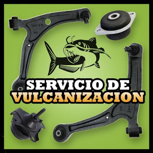 vulcanizacion bases motor/caja/bujes meseta