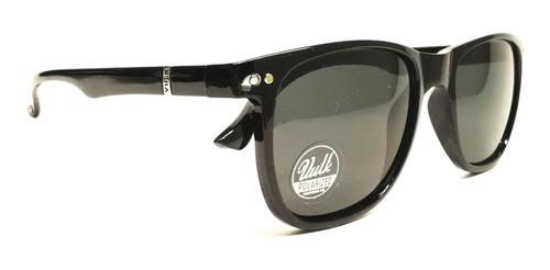 vulk angelo anteojos de sol gafas polarizado negro optica