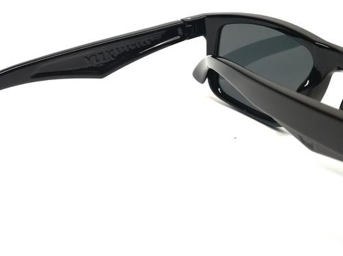 vulk baztu anteojos de sol gafas polarizado negro optica