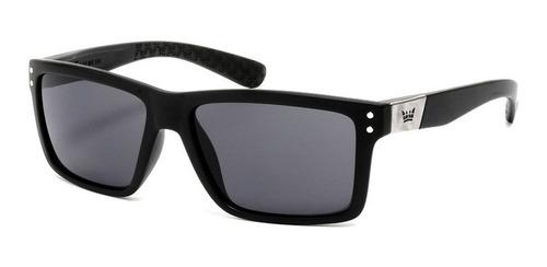 vulk raven anteojos de sol gafas polarizado negro wayfarer
