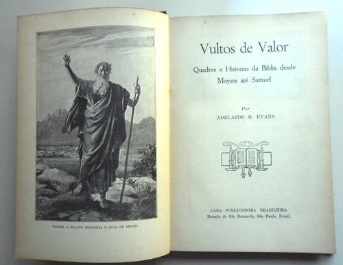 vultos de valor, adelaide b. evans - 1930