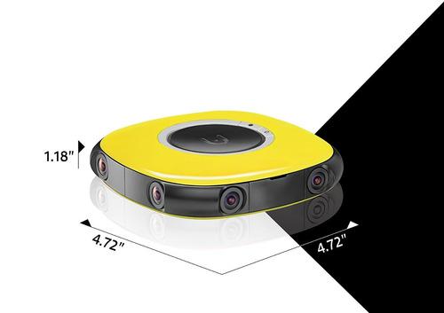 vuze cámara, amarillo), vuze-1-ylw