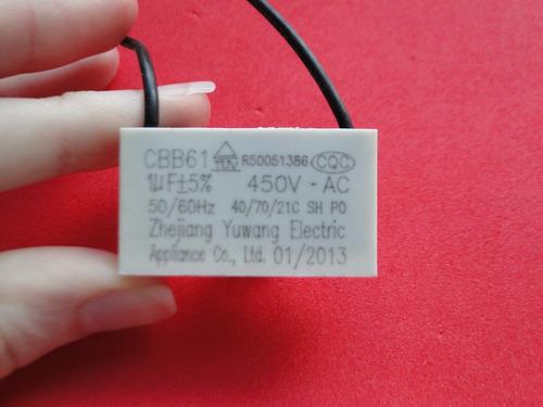 vv capacitor 1uf 450vac cbb61   original