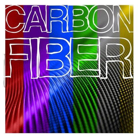 vvivid xpo rojo de sangre 3d fibra de carbono 5 pies x 1ft