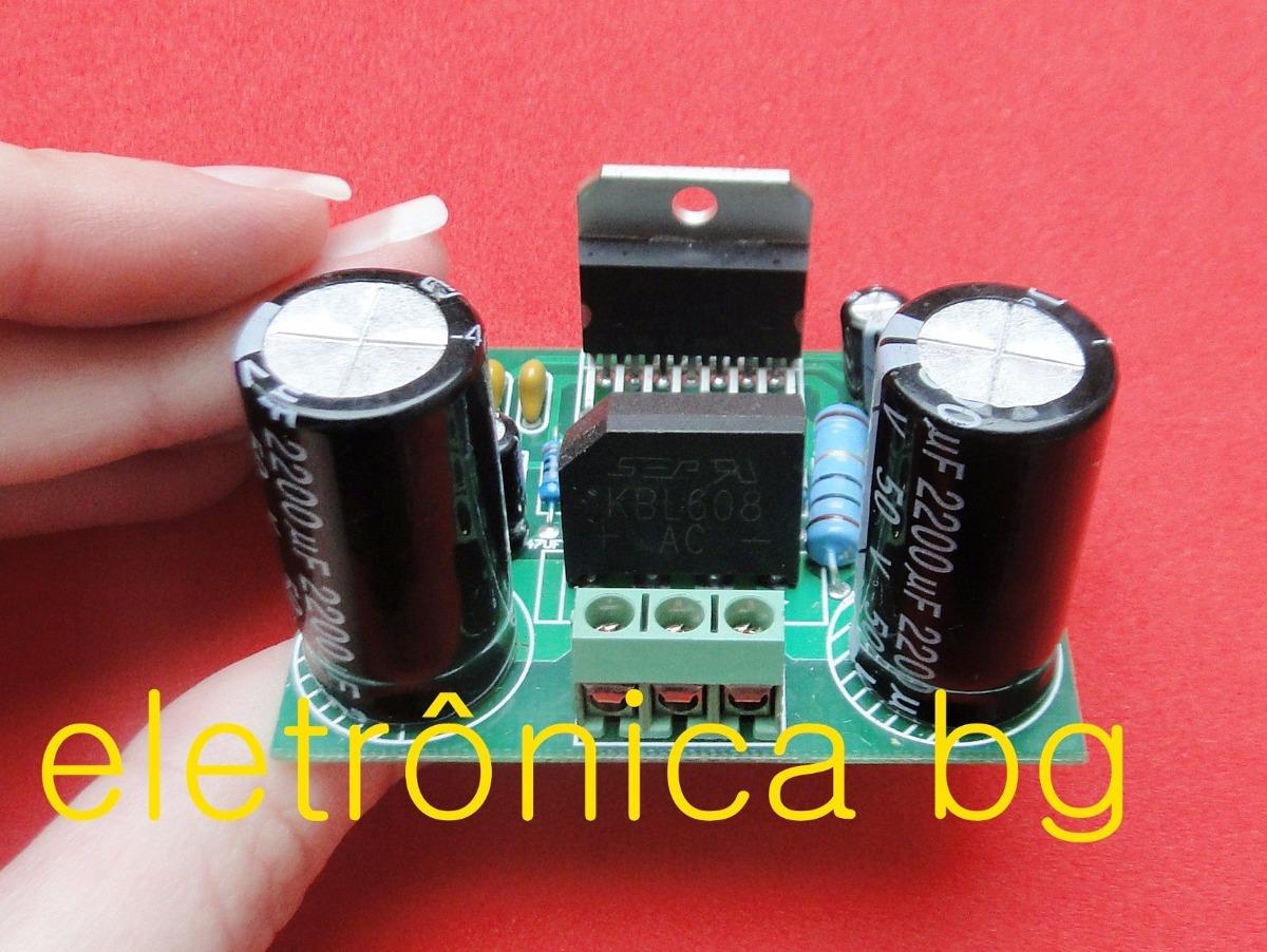 Vvtda7293 Tda7294 Amplificador De Audio 100w Rms Montado R 46 Amplifier Carregando Zoom