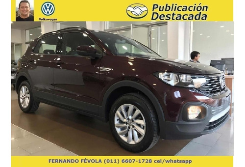 vw 0km volkswagen t-cross 1.6 msi comfortline mt at tcross g