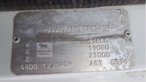 vw 12-140 h - 96/96 - toco, caçamba basculante, reduzido