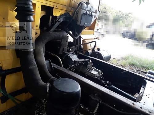 vw 13-130 - 83/83- truck, no chassi, motor mwm 6cc, reduzido