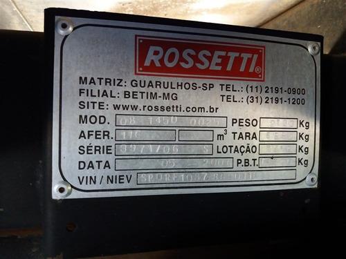 vw 13-180 ano:2009 com baú de alumínio rossetti