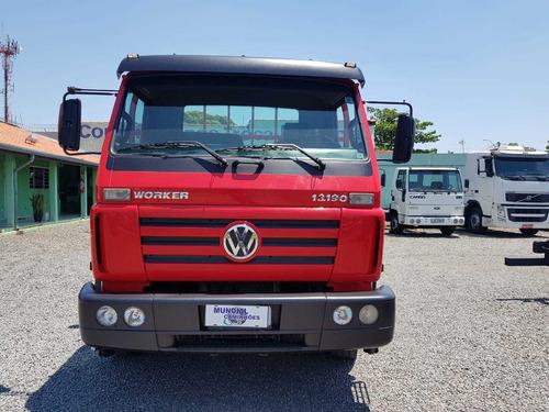 vw 13-190 4x2  worker 2014 c/carroceria 2 unidades