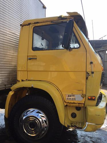 vw 13130  truck baú 11m ano 1986