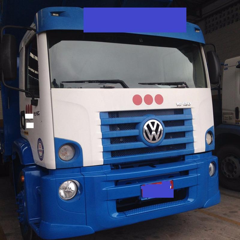 vw 13180 6x2 com carroceria 2009/2009