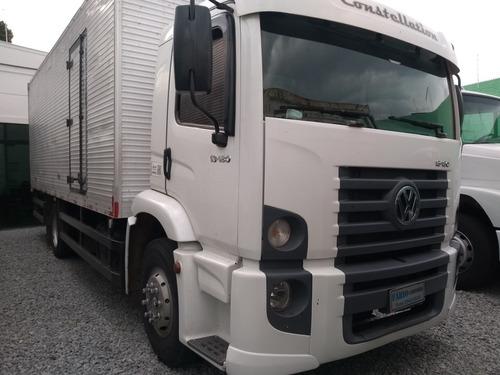 vw 13180 constellation 2009 baú aceito troca carro caminhão