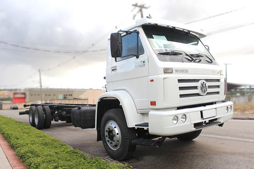 vw 13180 worker 06/06 6x2 no chassi repasse