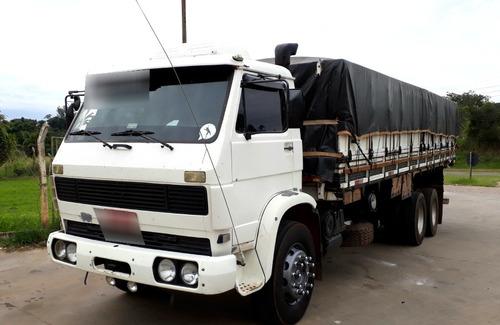 vw 14220 cummins truck carroceria graneleiro