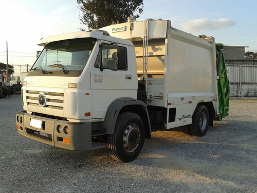 vw 15.180 worker (2010) + compactador planalto 12mts