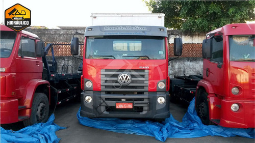 vw 15.190crm 4x2 4p - baú(rossetti) com plataforma / 2013