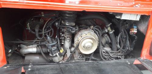 vw 1.6 alcool com injeção - kombi 1600 cc 1985