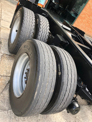 vw 16170 ano 1997 truck 6x2 chassis / financia 100%