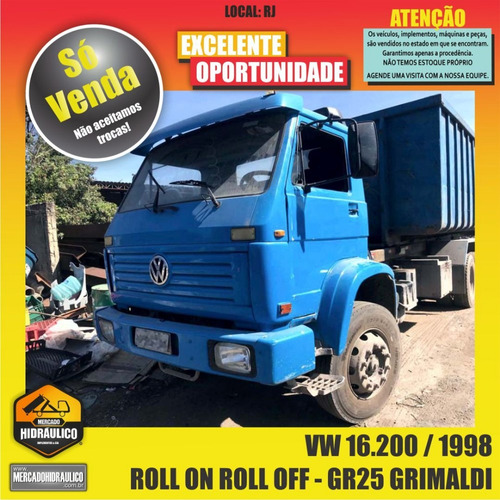 vw 16.200 / 1998 - roll on roll off gr25 grimaldi