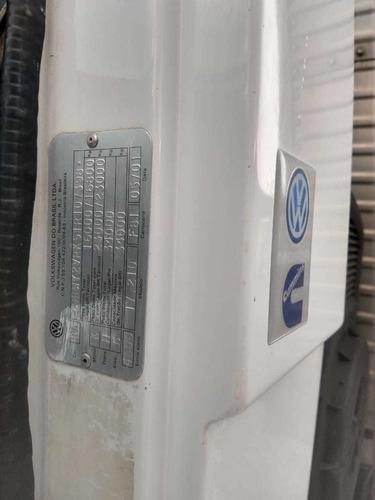vw 17-210 ano 2001 , c/ baú carga seca , mecânica semi nova