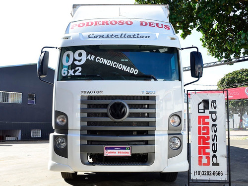 vw 17 250 constellation 6x2 truck baú 10.50 = 24 250 24 280