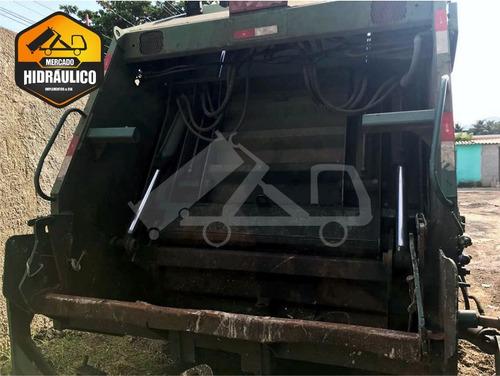 vw 17.180 euro3 worker / 2009 - compactador de lixo - usimec