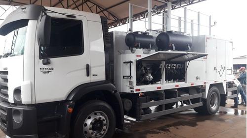 vw 17.190 comboio gascom  pressolub novo caminhão comboio
