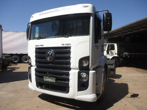 vw 19 320 branco 2008 4x2 impecável itália caminhões