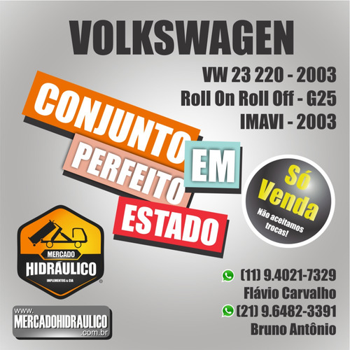 vw 23.220 / 2003 - roll on roll off g25 imavi