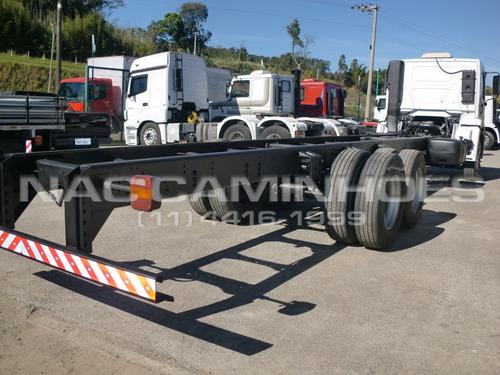 vw 24250 cnc 6x2 2009/2009 chassi