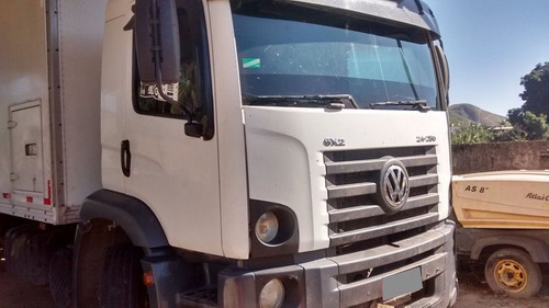 vw 24250 const 6x2 truck ano 2007 (no chassi).