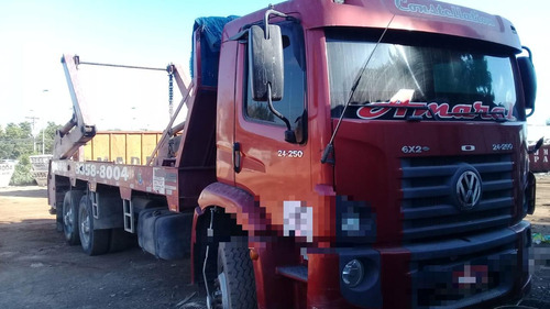 vw 24250 constelaton  truck  poly  triplo  ano 2010