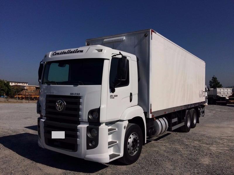 vw 24250 constellation condições especiais 1° caminhão